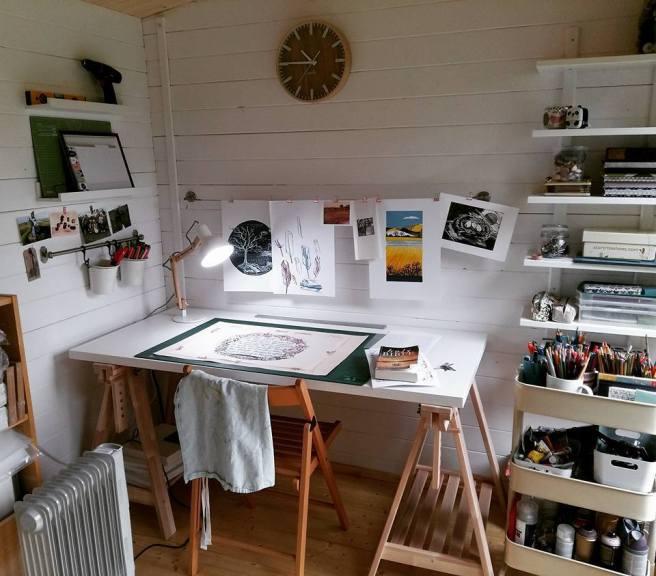 Customer Reviews: Lantera Log Cabin from Dunster House designed as an art studio
