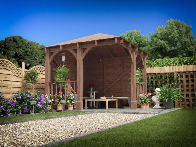 Brighten up your garden with Centaur Gazebo from Dunster House
