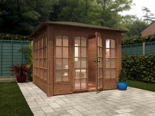"Chunky Summerhouse ""Hanet"" from Dunster House"