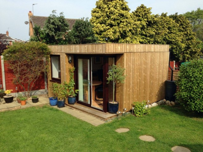 Garden Office from Dunster House