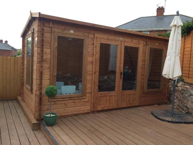 Lantera Log Cabin from Dunster House