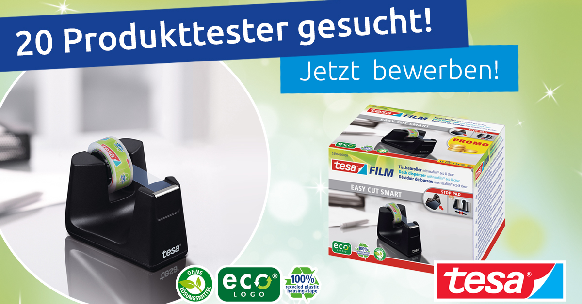 Produkttest: tesa Easy Cut® Smart Klebefilmabroller