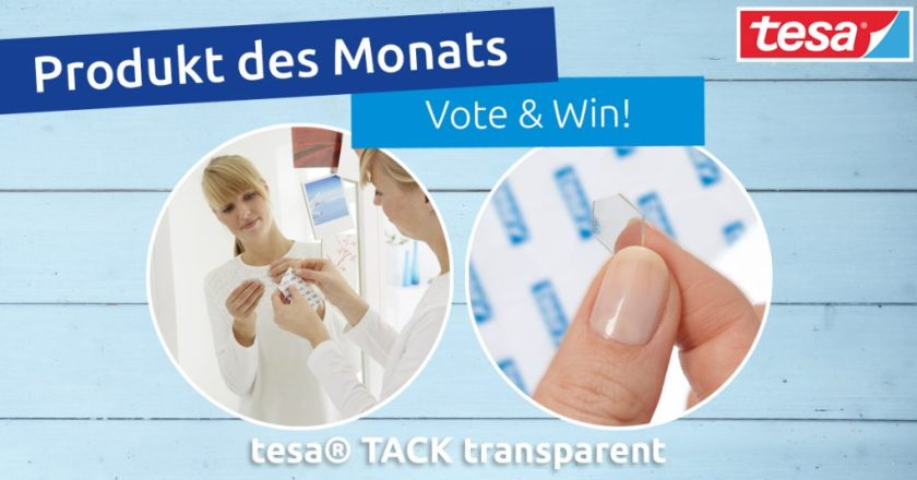 tesa® Tack transparent