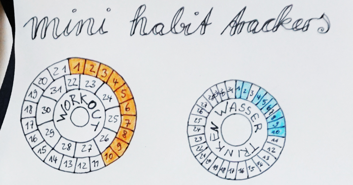 DIY Idee Habit Tracker