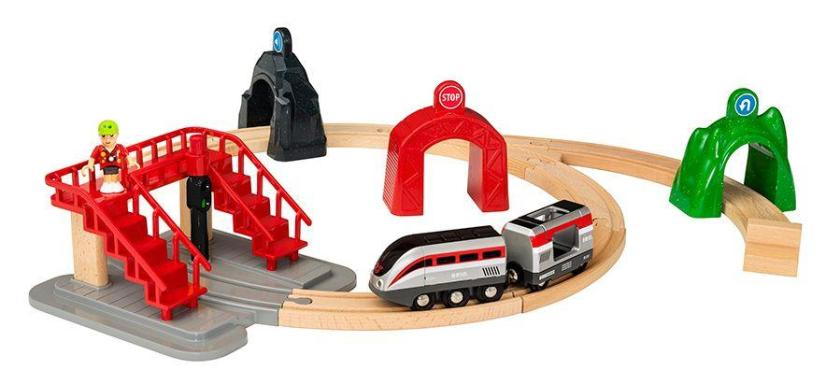 BRIO World Bahn Großes Smart Tech Reisezug Set