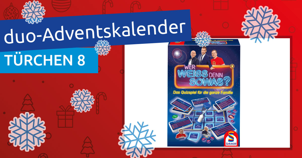 Adventskalender 2018 - Türchen 08