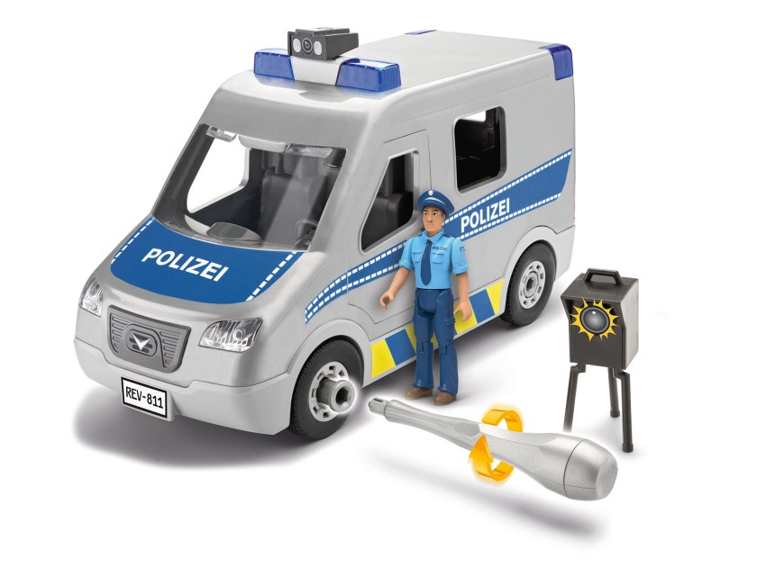Revell Junior Kit Polizei Bulli