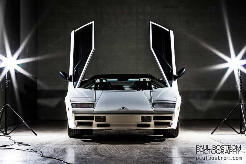 countach front
