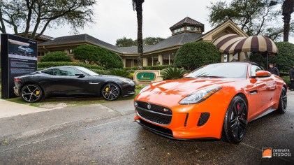 2014 03 Amelia Concours Day 0 - 19 Jaguar F-Type Coupe Convertib