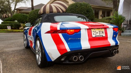 2014 03 Amelia Concours Day 0 - 20 Jaguar F-Type Convertible
