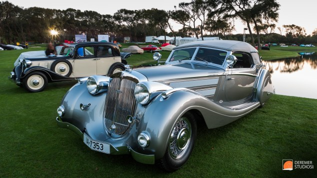 2014 03 Amelia Concours Day 3 - 05 Best of Show - 1939 Horch 930