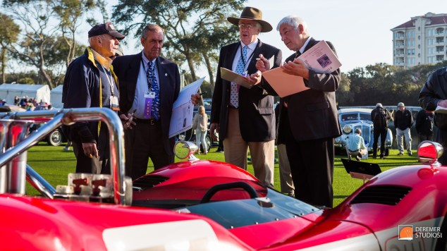 2014 03 Amelia Concours Day 3 - 15B Judging - Al Unser Sr - Ray