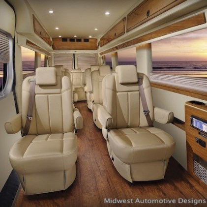 Luxury Sprinter Conversion Van