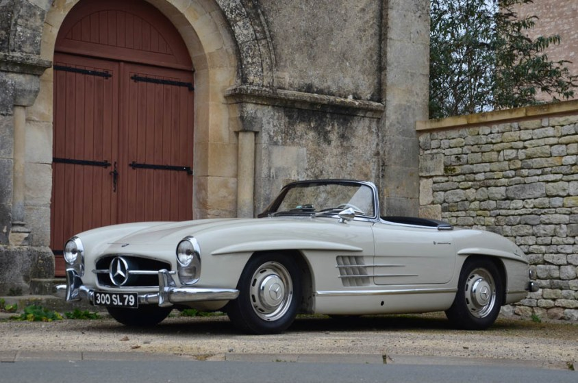 Lot 149-1957 Mercedes Benz 300 SL Roadster vendu 929 800 E - 1 M$ - GêÅ Artcurial