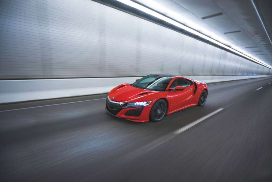 Next-Generation Acura NSX in Final Testing