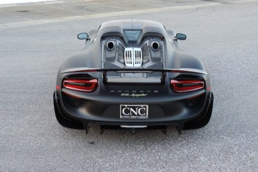 one of a kind porsche 918 spyder on. Black Bedroom Furniture Sets. Home Design Ideas