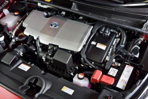 Under the hood of the New Prius