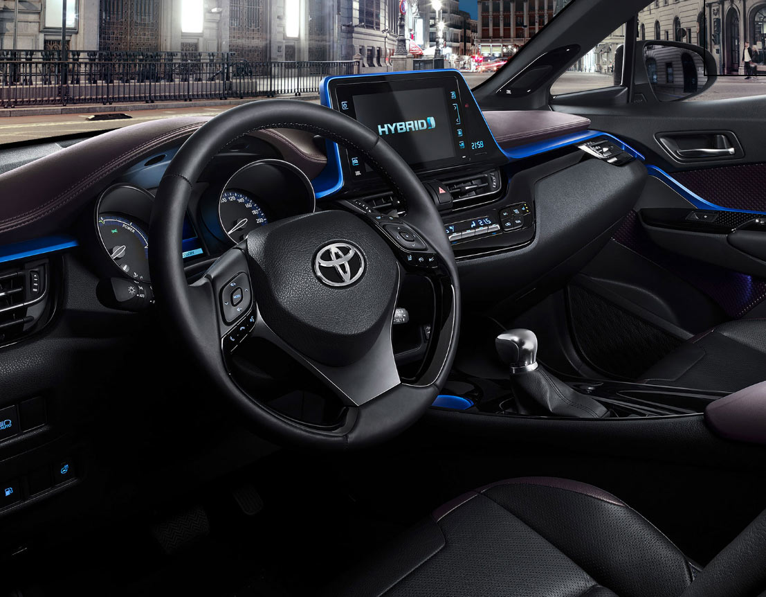 C-HR Steering Wheel