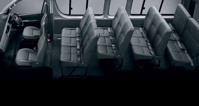 Quantum Sesfikile 16-Seater Arrangement