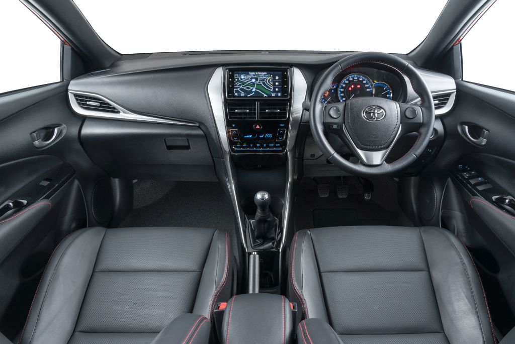 New Yaris 2018 Sport Interior