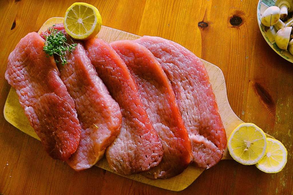 Thin slices of meat require even less cooking