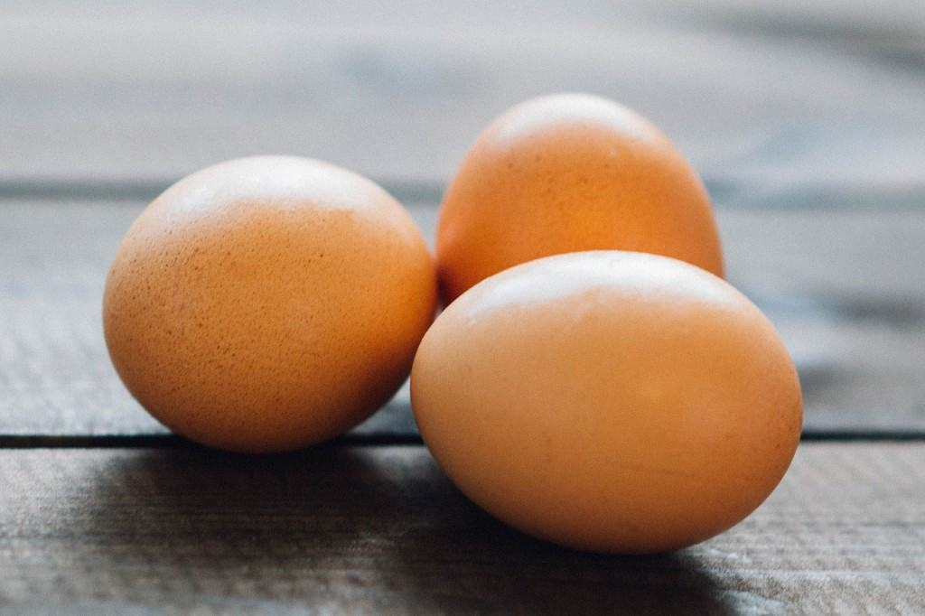Can it get any simpler than 3 boiled eggs?