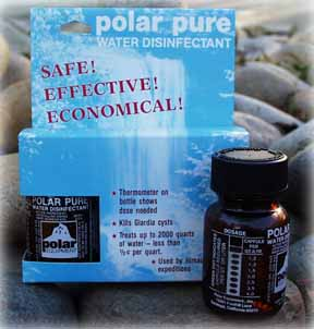 polar pure iodine disinfectant