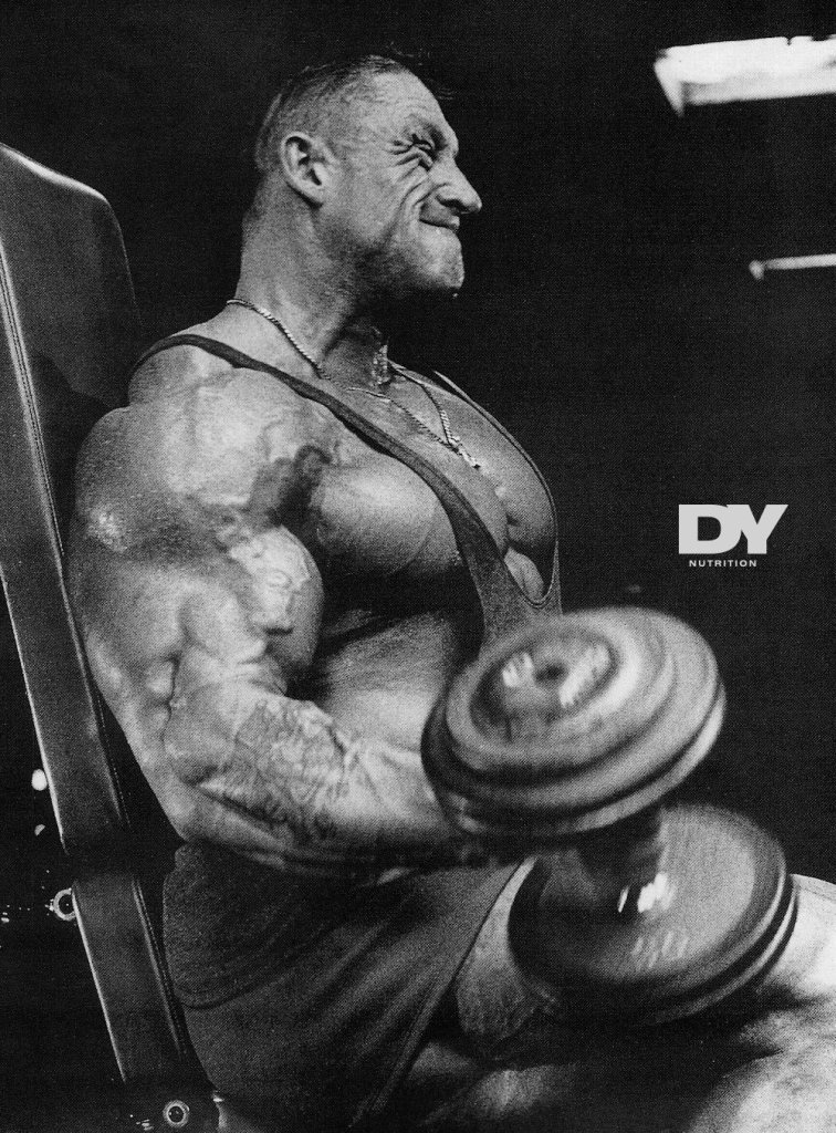 Dorian Yates didn't train for fame or status, he trained because he wanted to change his life.