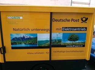 StreetScooter Deutsche Post GoGreen