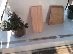Das Armaturenbrett stammt aus nachhaltigem Eukalyptusholz.