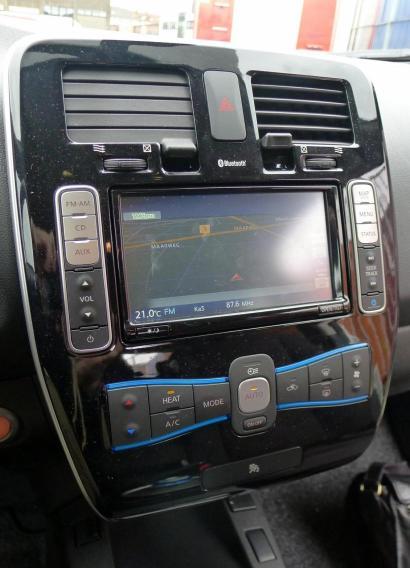 Nissan Leaf Mittelkonsole
