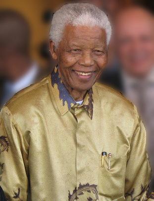 Nelson Mandela 2008 age90 via Wikipedia