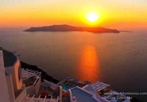 Santorini Sunset CalendarCover cZabransky
