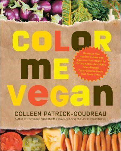 Stepping into Fall: Color me Vegan Cookbook