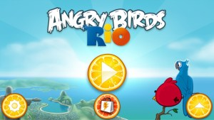 Angry Birds Rio Walkthrough Golden Beachball