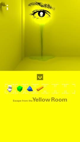 脱出ゲーム 黄色い部屋からの脱出2 攻略 3825