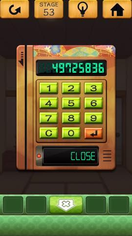 Th 脱出ゲーム 100 和室 攻略  2259
