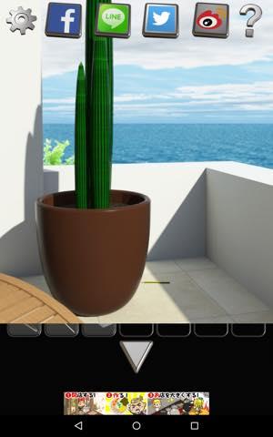 Th 脱出ゲーム  Seaside3 攻略 lv5 2