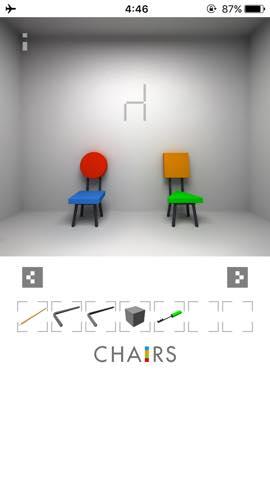 Th  脱出ゲーム 椅子 攻略 3002