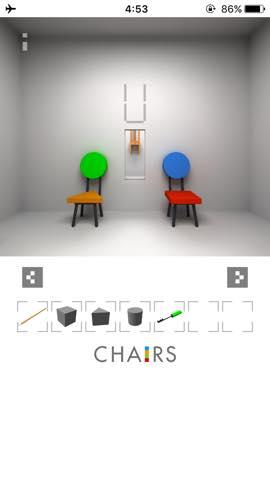 Th  脱出ゲーム 椅子 攻略 3020
