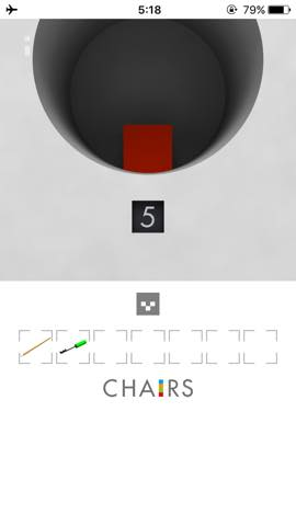 Th  脱出ゲーム 椅子 攻略 3037