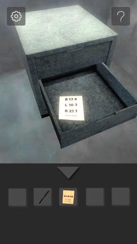 Th 脱出ゲーム  打放しコンクリートの部屋からの脱出  攻略 15