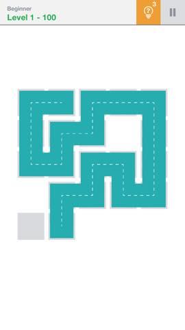 Th 頭が良くなる一筆書きパズル Fill 」 攻略 2194