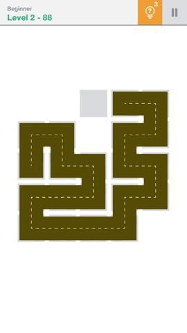 Th 頭が良くなる一筆書きパズル Fill 」 攻略 2282