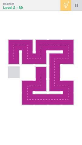 Th 頭が良くなる一筆書きパズル Fill 」 攻略 2283