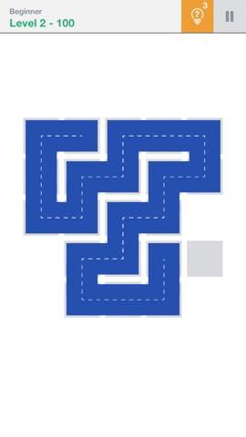 Th 頭が良くなる一筆書きパズル Fill 」 攻略 2294