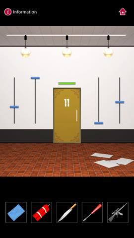 Th  脱出ゲーム  ゴルゴ13 DOOORS(Doors) 攻略 3109