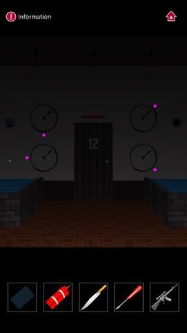 Th  脱出ゲーム  ゴルゴ13 DOOORS(Doors) 攻略 3112