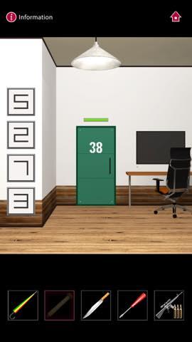 Th  脱出ゲーム  ゴルゴ13 DOOORS(Doors) 攻略 3262