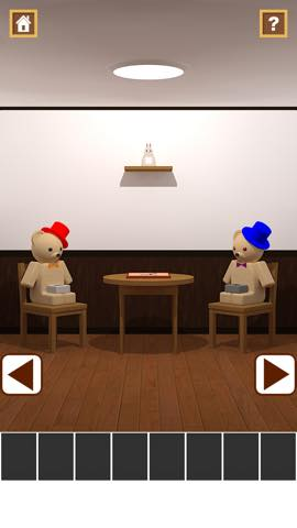 Th 脱出ゲームアプリ Wooden Toy  攻略 2345